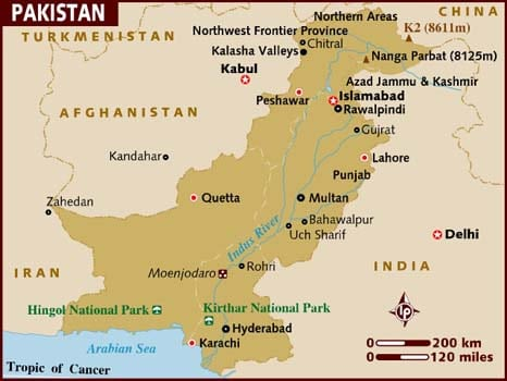 map_of_pakistan
