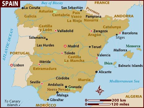 City Map Of Alicante Spain